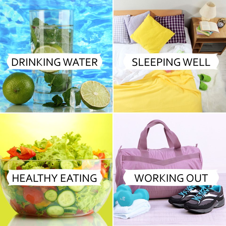 26171076 - collage of healthy lifestyle